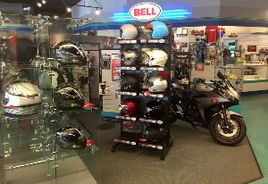 Bell Helmet sold at Cycle Sport Yamaha